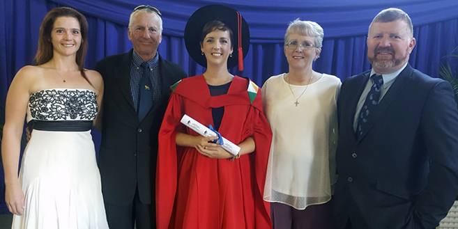 Doctoral Graduate Now Aims to Focus on Her Key Research Interests